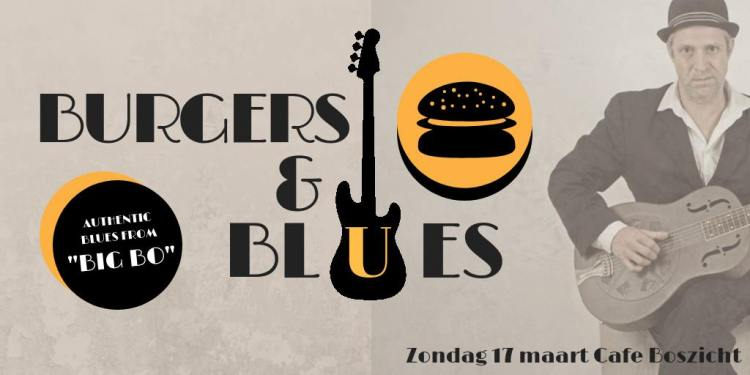 BIG BO - Live at Blues and Burgers, Cafe Boszicht