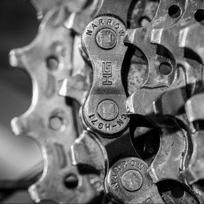 Chain & Cassette Close Up