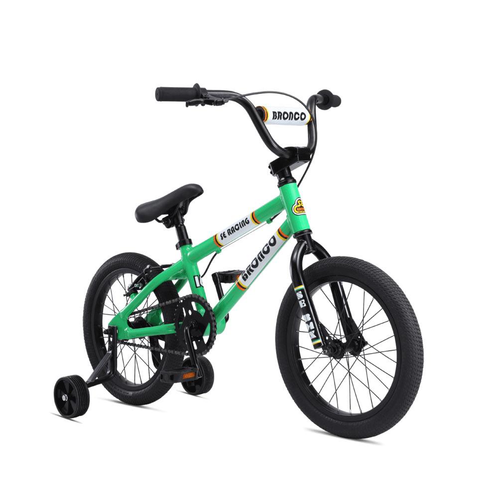 """2020 SE Bikes Bronco 16/"""" LE BMX Bike Kids Series Matte Blue"""