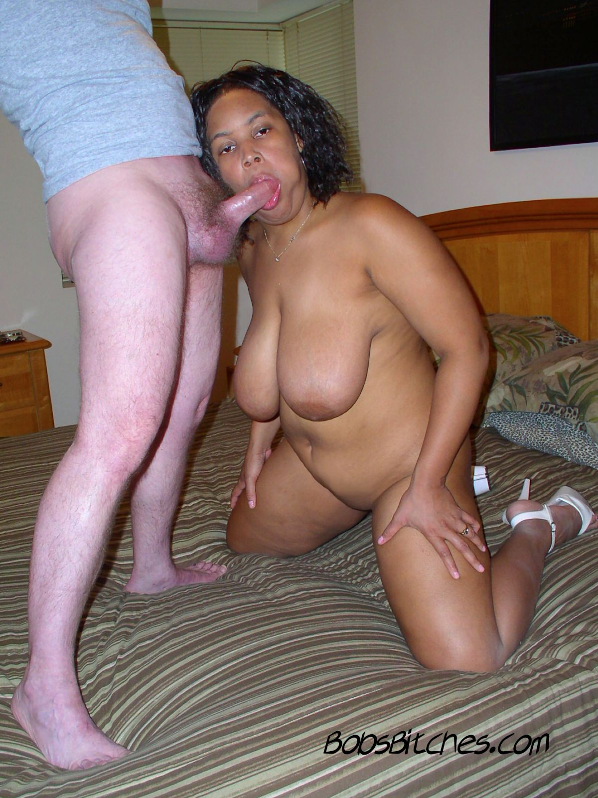 Ebony Destroyed Big Dick