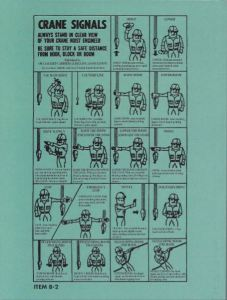 Bob's Rigging & Crane Handbook - English Pocket Size, Overhead Crane Rigging Book