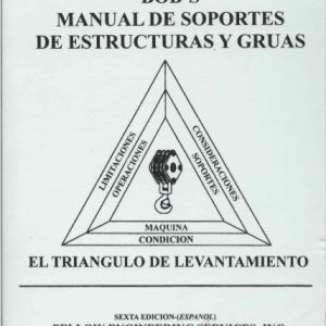 Spanish - Bob's Rigging & Crane Handbook Pocket Size, Crane Rigging Book