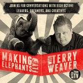 Making Elephanst Fly Podcast Artwork