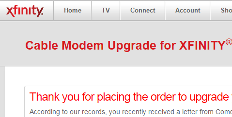 Comcast modem upgrade acts like a computer virus email; some complain about surprise fees