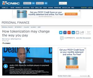 tokenonCNBC