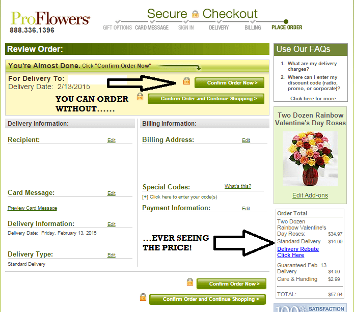 Proflowers coupon code radio