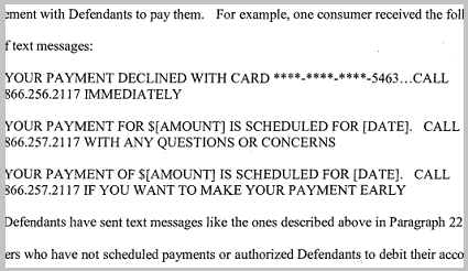 Debt collectors' new tactic: Scary text messages