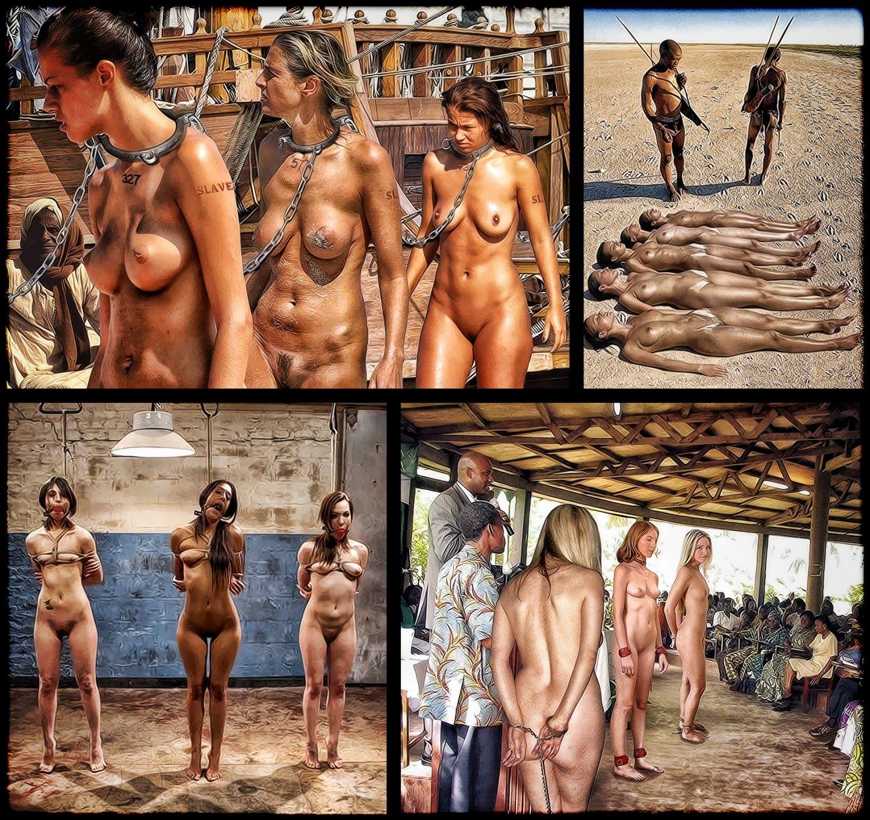 Porn slave market Naked slaves,