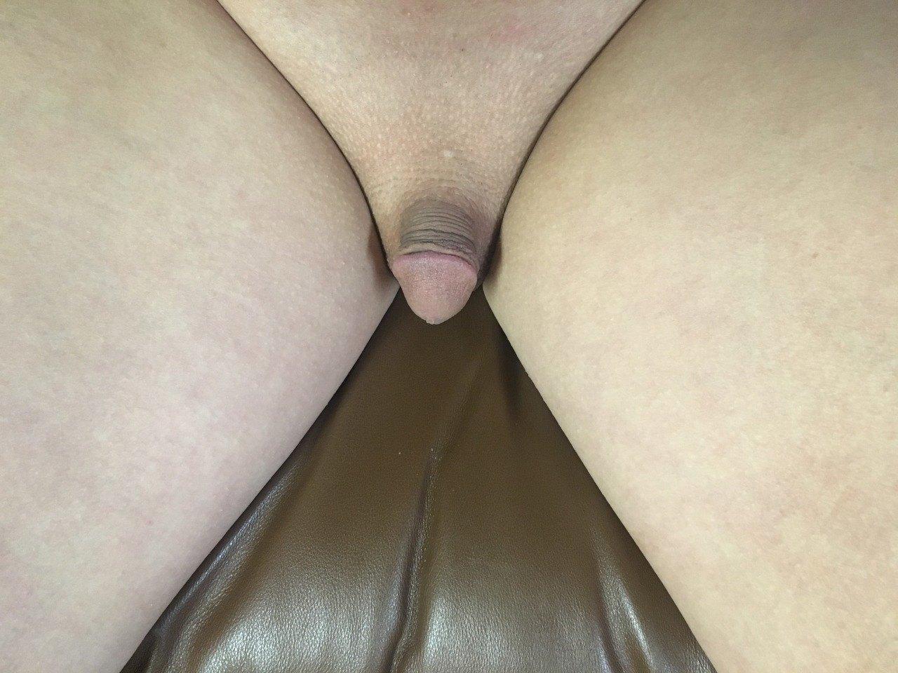 Tranny Cumming While Fucked