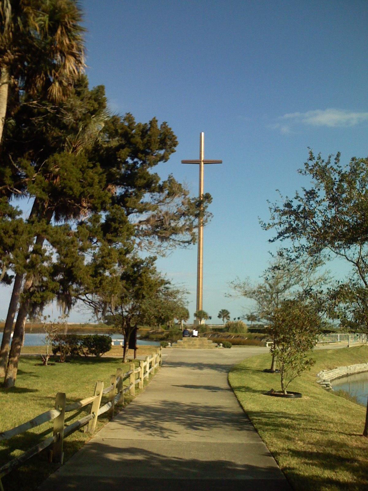 the great cross / mission of nombre de dios / st. augustine, fl