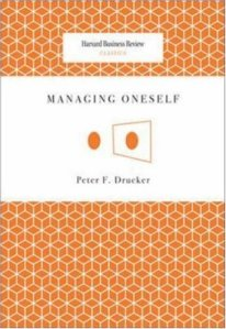 Managing Oneself Cover
