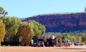 US Marine convoy NT