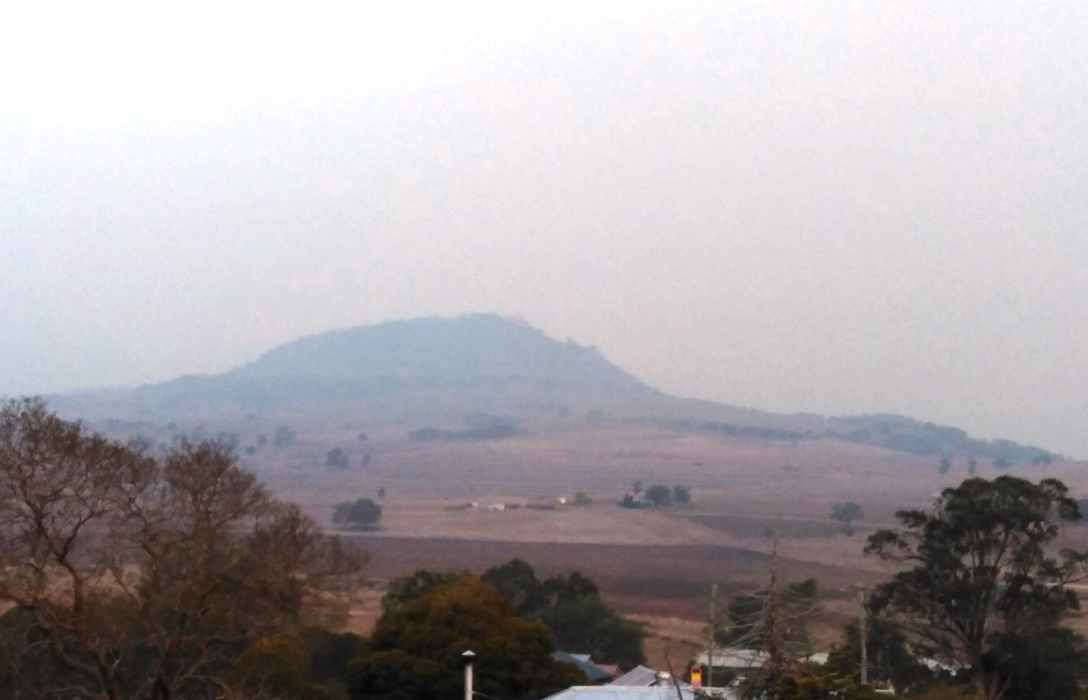 Where there's (bush) fire there's smoke