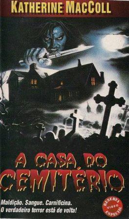 Poster do filme A Casa do Cemitério