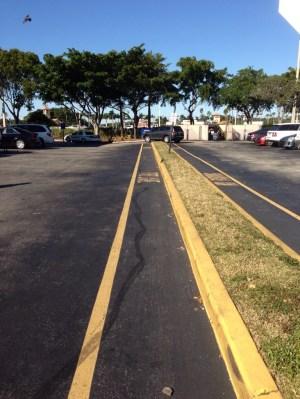 West Boca Starbucks parking