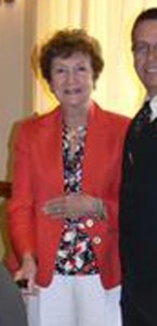 Lyn Houston, shown in a Boca Raton Rotary Club photograph.