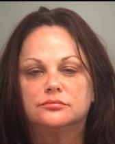 Rebecca McBrain, wife of Iron Maiden drummer Nicko McBrain, courtesy Palm Beach County Jail.