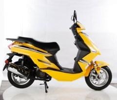 One model of a Tao Tao scooter, courtesy TaoTao USA.