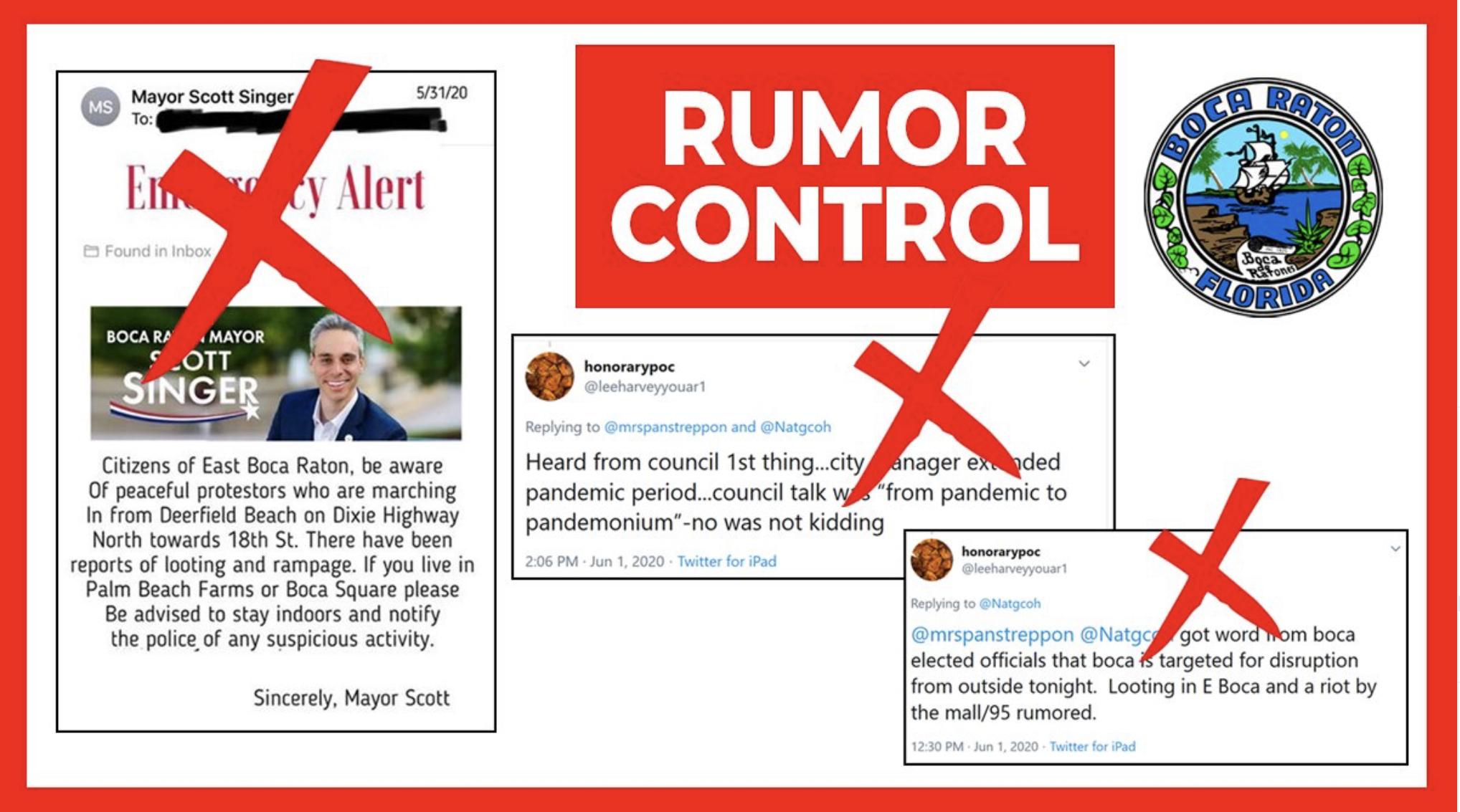rumor control boca