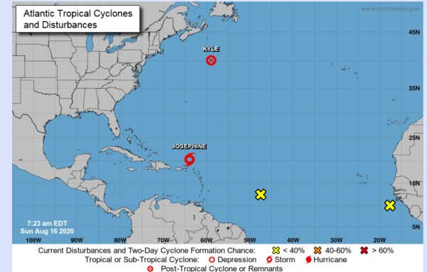 hurricane center august 16 2020