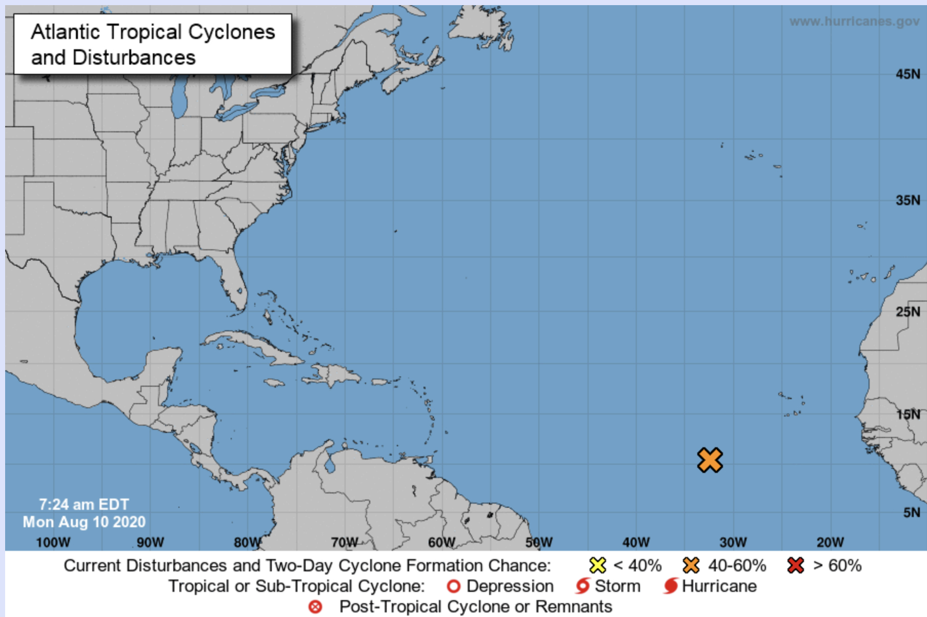 hurricane center august 10 2020