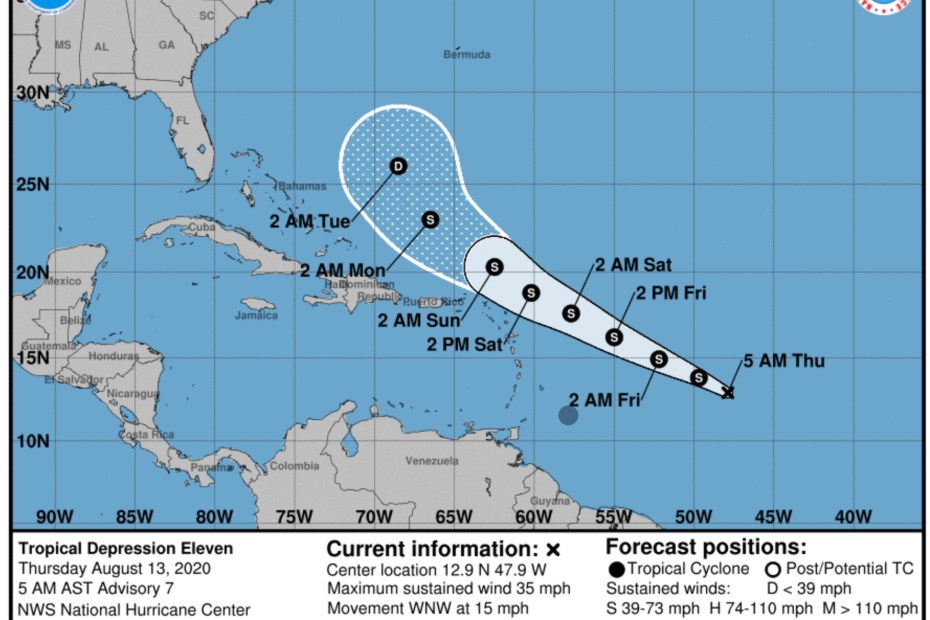 hurricane center josephine