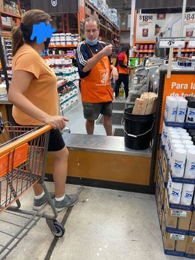 home depot mask