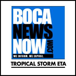tropical storm eta from BocaNewsNow.com
