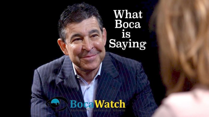 What Boca is Saying – Peter Baronoff