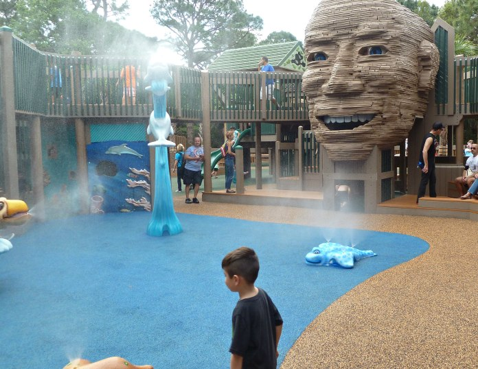 Children with Disabilities Welcomed at Revamped Sugar Sand Park Playground