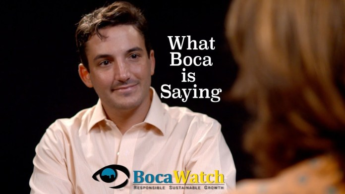 What Boca is Saying: The Free Ride