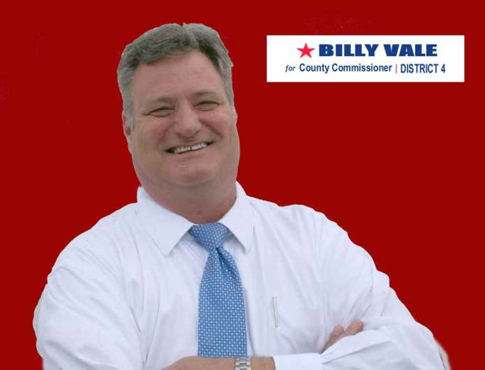 William 'Billy' Vale Enters The Race for County Commission