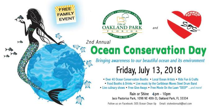Save the Date to Save the Ocean!