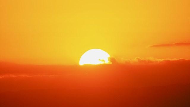 夕日 鎌倉から湘南海岸