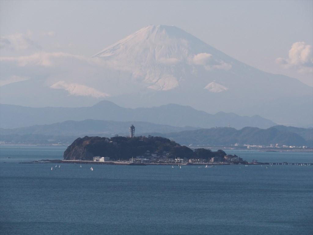 富士山 江ノ島 逗子
