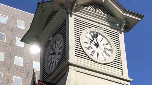 北海道ひとり旅 札幌時計台