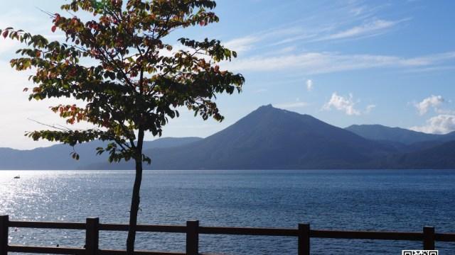 支笏湖 恵庭岳