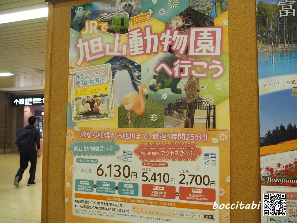 旭山動物園へ行こう ポスター