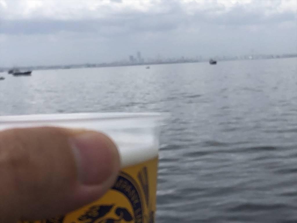 船上生ビール