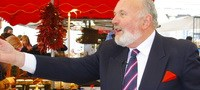 David Norris on the Campaign Trail at Limerick's Milk Market