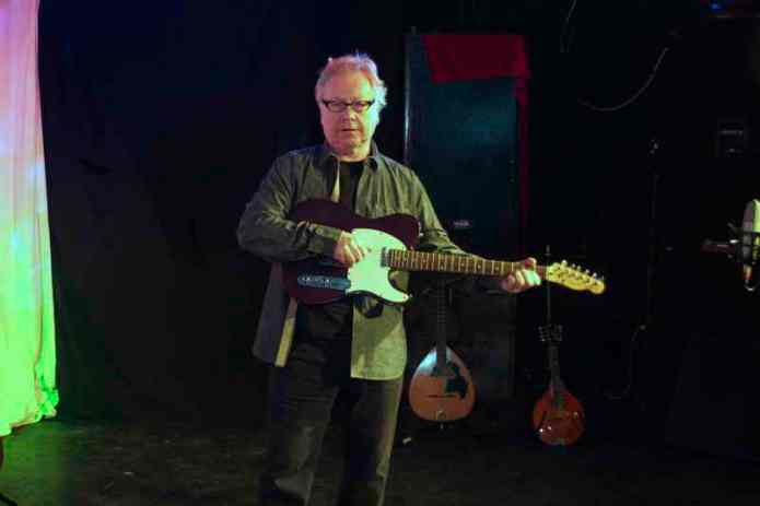 PAul Brady with the Rescue Guitar