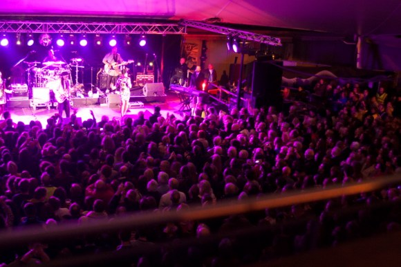 Nile Rodgers and Chick at Limerick Milk Market