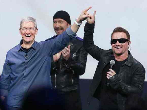 u2 apple iphone