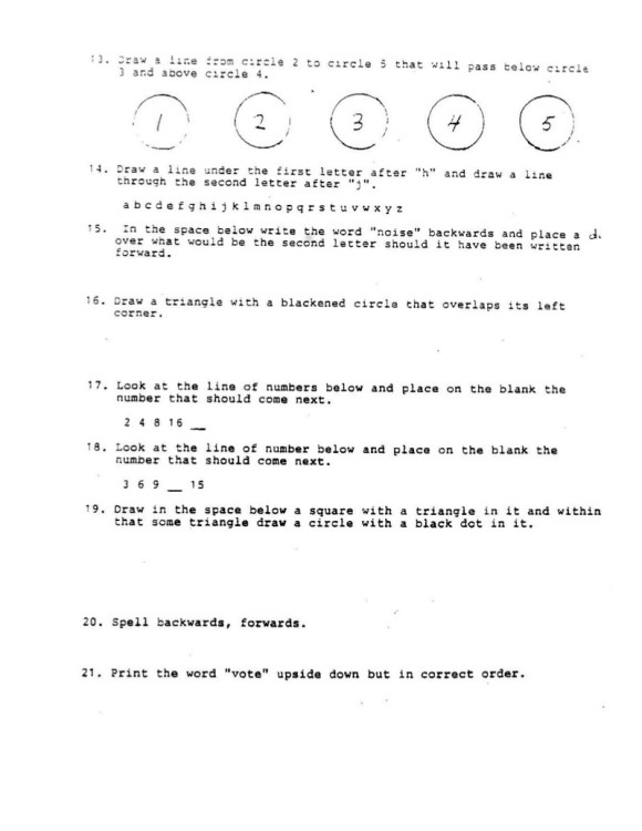 Louisiana State Literacy Test 1964 002