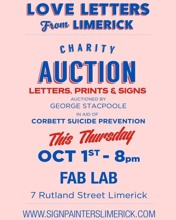 love letters from limerick auction