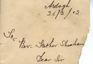 Father Sheahan letter 001
