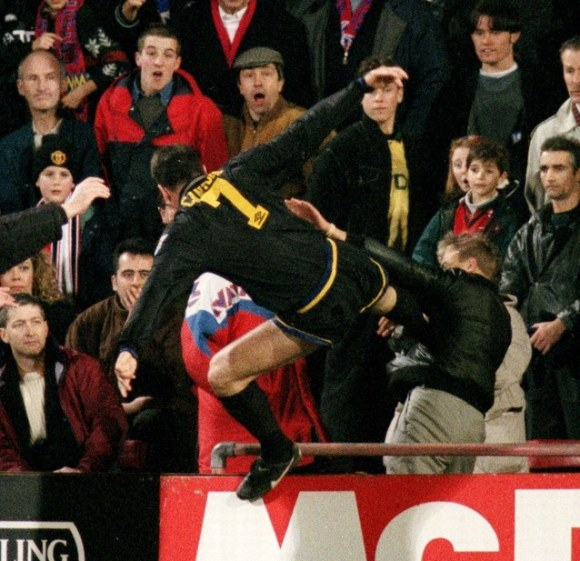 eric cantona matthew simmons manchester united crystal palace