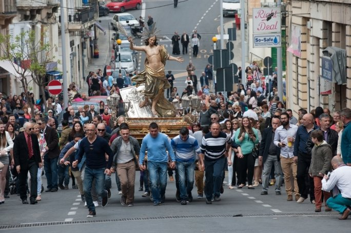 Good Friday and Easter in Cospicua