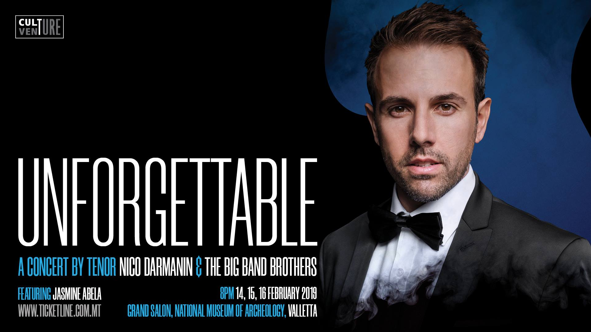 Unforgettable – A Concert by Tenor Nico Darmanin