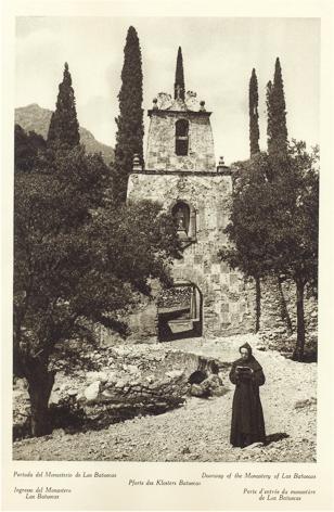 Portada del Monasterio de las Batuecas